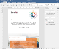 QALITEL doc - Editeur intégré