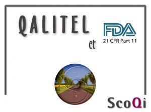 SCOQI – Tableau de correspondance Exigences 21 CFR Part 11 / Fonctionnalités QALITEL