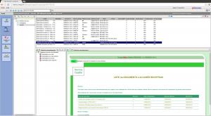 Interface de gestion multi-fenêtrée du GAE, le générateur automatique d'e-mails de votre logicie lde gestion des documents QALITEL doc, logiciel qualité de la gamme QALITEL de scoqi
