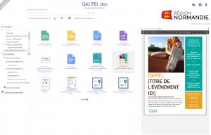 chaque document est représenté par le logo de son type (word, pdf, excel etc ...) et est visualisé sur un simple clic. QALITEL doc, votre logiciel de GED.