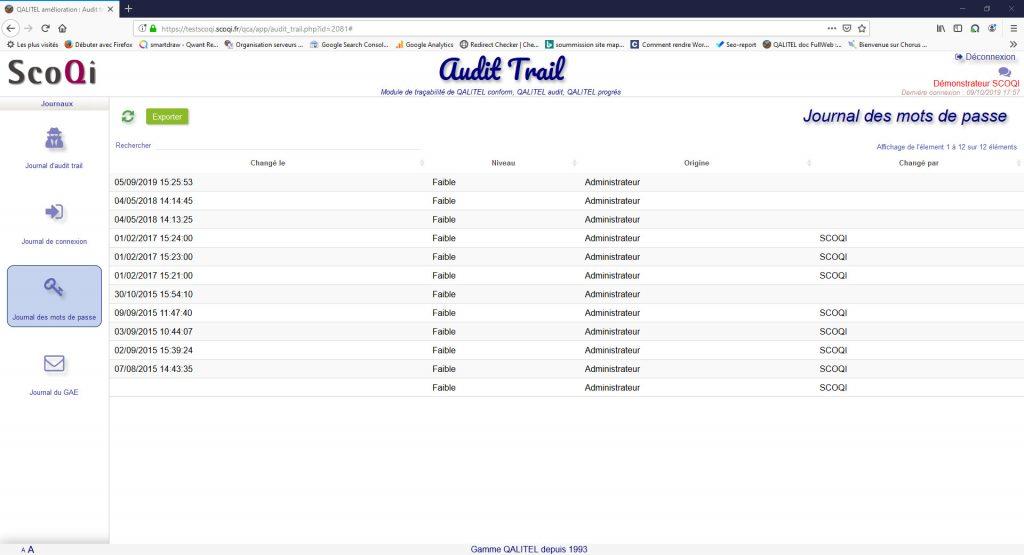 logiciel-gestion-non-conformite-action-qualite-qalitel-conform - module-tracabilite-audit-trail-qalitel-audit-conform-progres-mot-passe