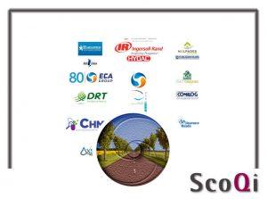 Logos des clients de la société SCOQI – logiciel Qualité de la Gamme QALITEL
