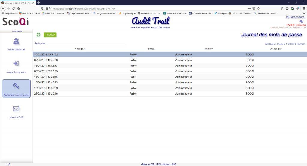 Logiciel-gestion-metrologie-instruments-mesure-gmao-qalitel-compar - module-tracabilite-audit-trail-mots-de-passe-qalitel-compar