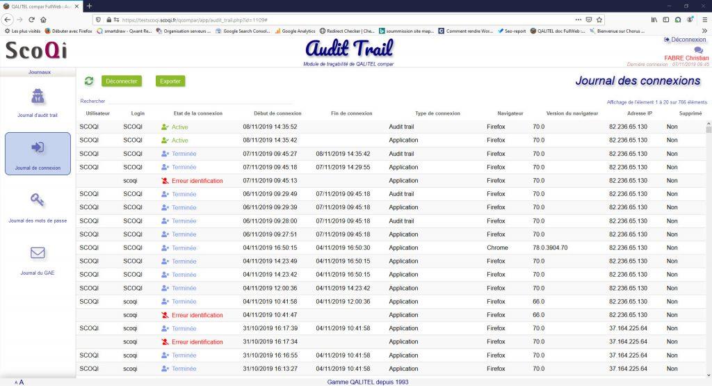 Logiciel-gestion-metrologie-instruments-mesure-gmao-qalitel-compar - module-tracabilite-audit-trail-qalitel-compar-connexion