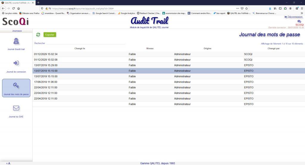 logiciel-gestion-courrier-entrant-sortant-traitement-suivi - module-tracabilite-audit-trail-mots-de-passe-qalitel-courrier