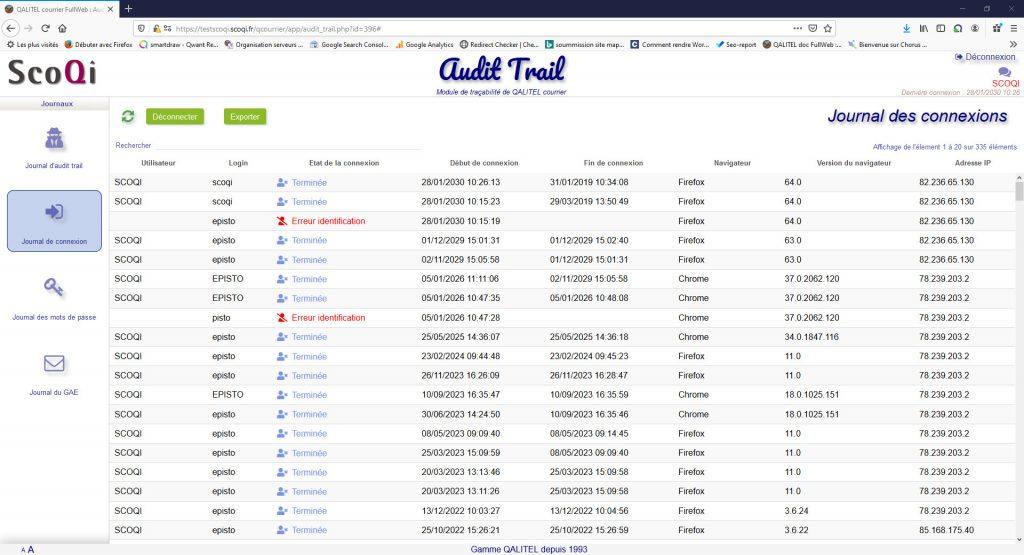 logiciel-gestion-courrier-entrant-sortant-traitement-suivi - module-tracabilite-audit-trail-qalitel-courrier-connexion
