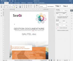 Read more about the article QALITEL doc – Editeur en ligne SCOQI office